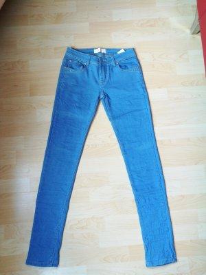 Pantalon strech bleu clair