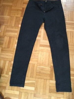 Stretchjeans schwarzblau H&M Gr. 36