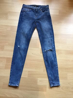 Stretchjeans used-Look