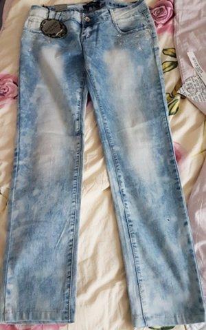 Best emilie Stretch Jeans azure cotton
