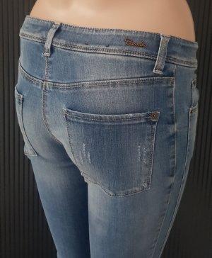 Cambio Jeans stretch bleu clair