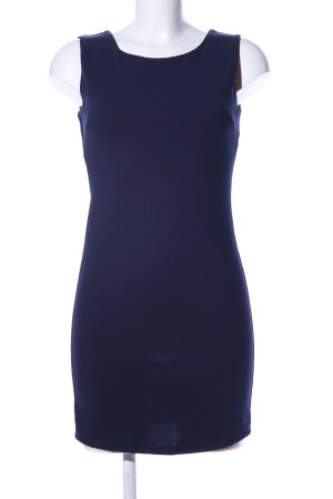 Stretch Dress blue business style