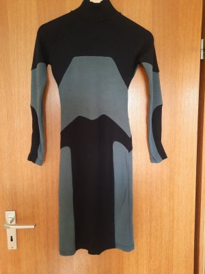 Stretch Dress black-grey