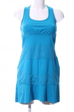 Stretchkleid blau Casual-Look