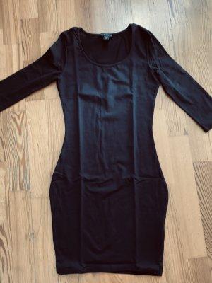 Stretchkleid schwarz Gr  36-38