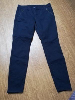 C&A Stretch Trousers dark blue