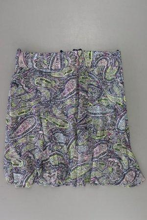 Stretchrock Größe 44 mit Paisleymuster mehrfarbig aus Polyester