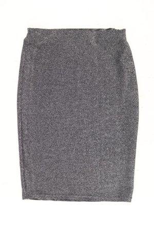 Jupe stretch argenté