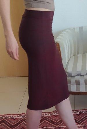 Tandem Falda stretch burdeos-lila