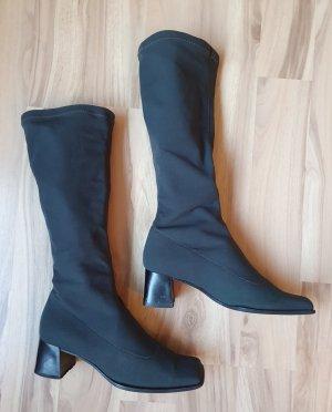 Stretch Boots grey-dark grey