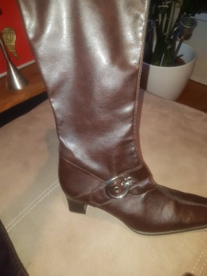 Gabor Stretch Boots dark brown