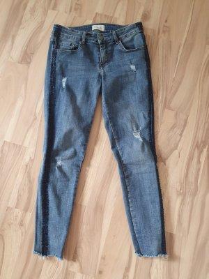 Cartoon Stretch Jeans blue-steel blue