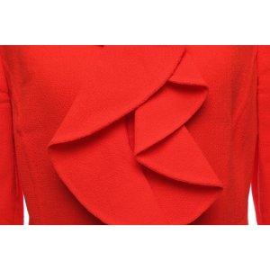 Oscar de la renta Blazer in maglia rosso chiaro Lana