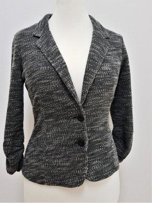 Zero Knitted Blazer black-natural white