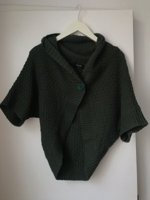 Gina Tricot Knitted Bolero dark green-forest green