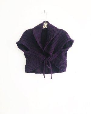 Vintage Bolero lavorato a maglia multicolore
