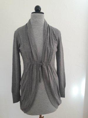 Repeat Cardigan in maglia grigio scuro