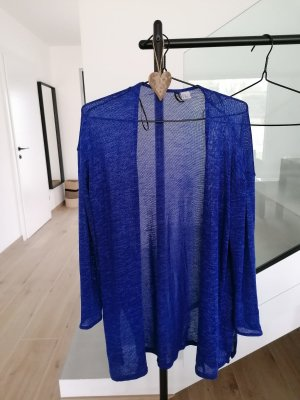 Devided von H&M Crochet Cardigan blue-neon blue