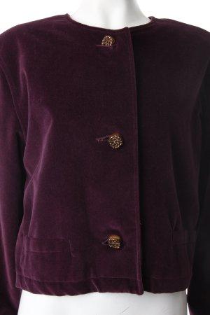 Strick Cardigan dunkelviolett