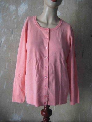 Clarina Knitted Cardigan pink viscose