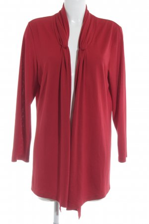 Strick Cardigan rot Casual-Look