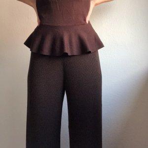 Massimo Dutti Culottes dark brown