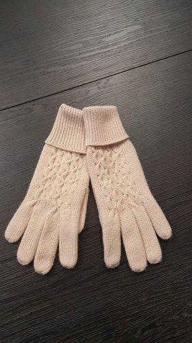 Knitted Gloves beige