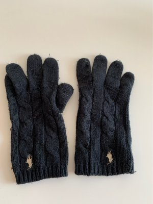 Ralph Lauren Knitted Gloves black