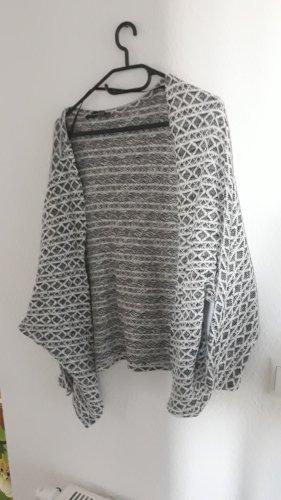 Atmosphere Giacca di lana nero-bianco sporco