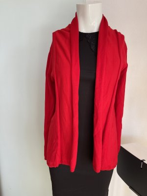Zara Long Jacket red