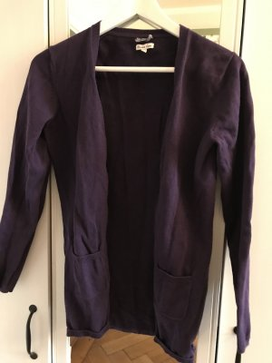 Donna Lane Knitted Cardigan dark violet