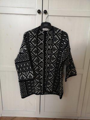 Velvet by Graham & Spencer Kimono white-black