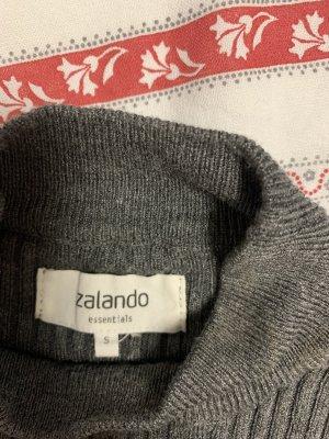 Zalando Knitted Dress dark grey