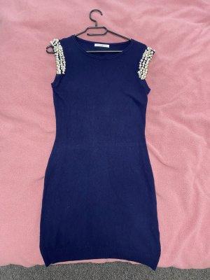 Beauty Women Gebreide jurk donkerblauw