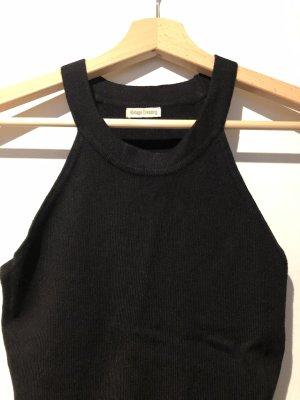 Vintage Sukienka z dekoltem typu halter czarny