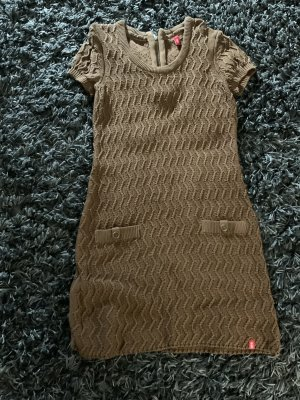 edc by Esprit Knitted Dress cognac-coloured