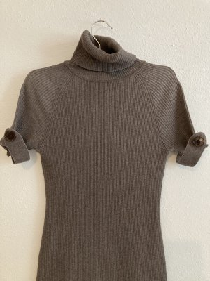 Strick-Kleid figurbetont-Stretchiger Stoff