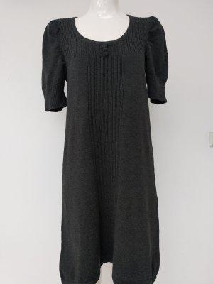 Street One Robe en laine gris anthracite