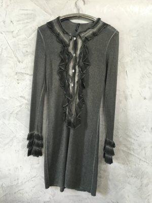 Sweater Dress grey mixture fibre