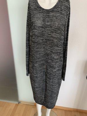 Strick Kleid Tunika mit Schlitz Gr 40 L von Janina
