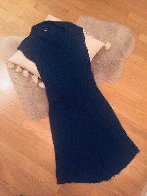 Patrizia Pepe Knitted Dress dark blue