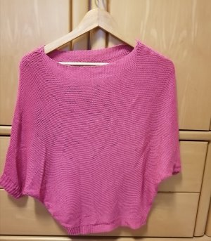 Short Sleeve Sweater pink