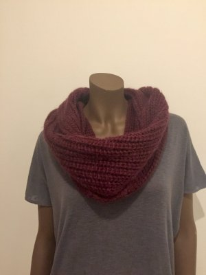 Diesel Knitted Scarf bordeaux