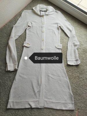 oui Moments Płaszcz z dzianiny biały-w kolorze białej wełny