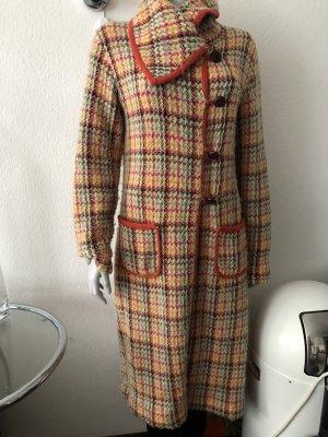 Escada Sport Wool Coat multicolored