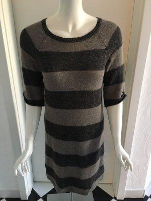 Comptoir des Cotonniers Robe en maille tricotées taupe-gris brun