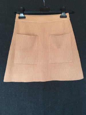 Strick-Minirock von Zara