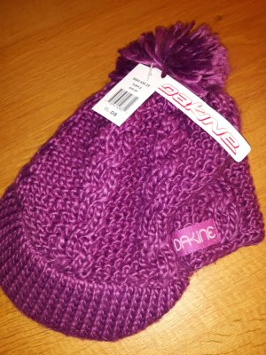 Dakine Chapeau en tricot violet