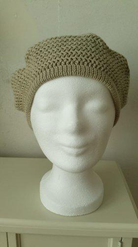 Seeberger Cappello a maglia beige-color cammello