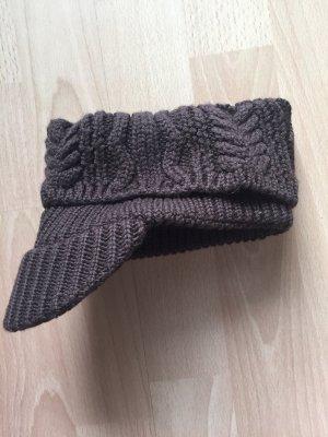 Gorra de béisbol marrón-negro